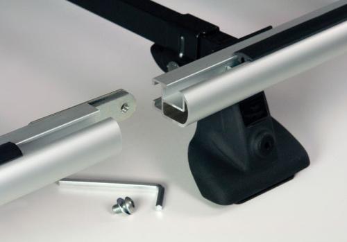 Galerie acier/aluminium
