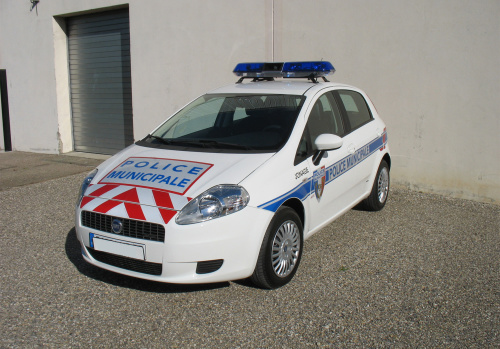 balisage pour police vehicule