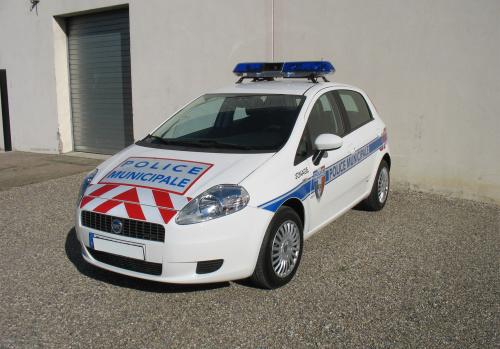 balisage pour police vehicule
