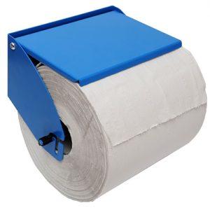 Porte-rouleau à papier en métal