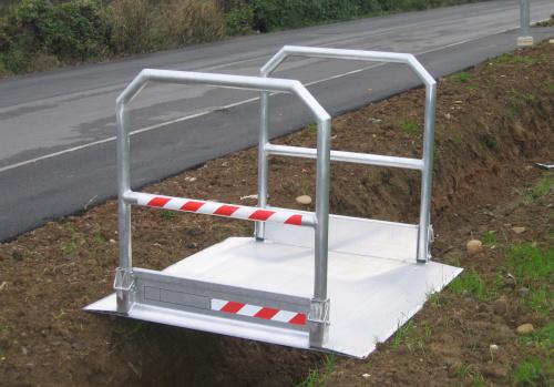 Rampes pliables en aluminium
