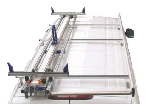 Porte-échelle à une glissière - Equipvan