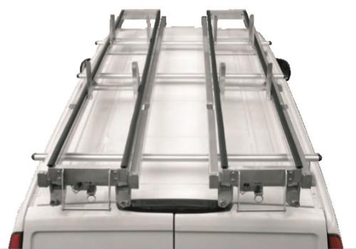 Porte-échelle à deux glissières - Equipvan