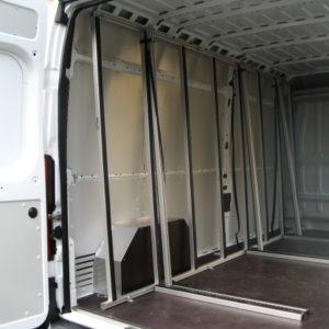 aluminium berce vitre intérieur