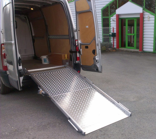 rampe pour véhicules utilitaire