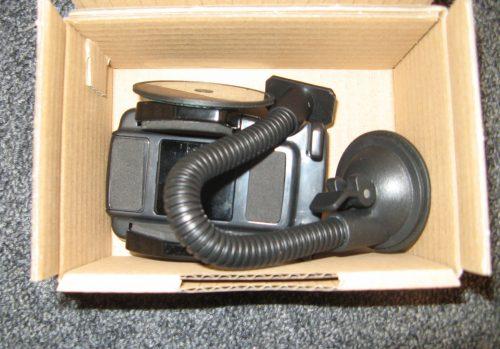 Porte téléphone ventouse flexible