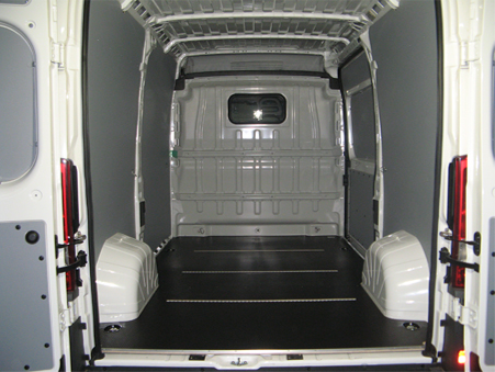 habillage bois vehicules utilitaires equipvan. Black Bedroom Furniture Sets. Home Design Ideas