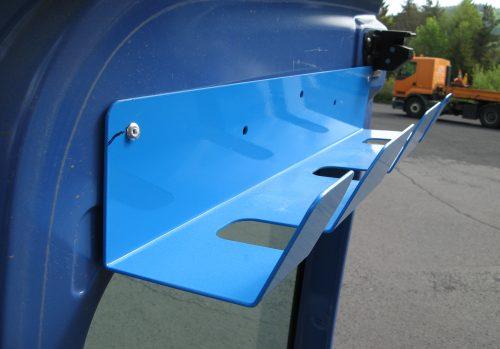 Porte-outils 3 Outils en Acier Galvanisé Laquée peinture poudre