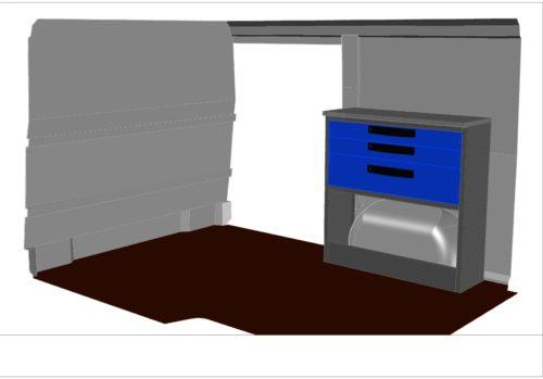 kit kf10 aménagement véhicule utilitaire