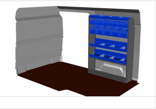 KIT KF101 aménagement véhicule utilitaire