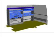 kit kf54 aménagement véhicule utilitaire