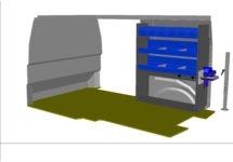 kit kf55 aménagement véhicule utilitaire