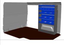 kit kf81 aménagement véhicule utilitaire