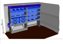 kit kf 82 aménagement véhicule utilitaire