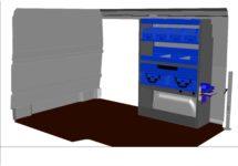 kit kf85 aménagement véhicule utilitaire