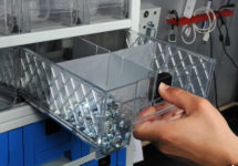 Boitiers avec tiroirs en polypropylène extractible